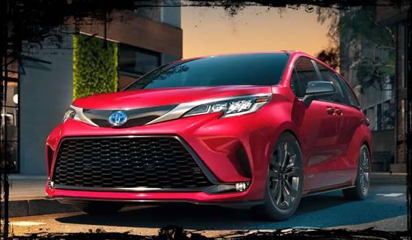 2021 Toyota Sienna Redesign